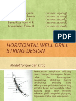 20. Horizontal Well Drill String Design