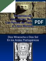 Presentacion Las Ruinas de Tiwanaku y El Libro de Mormon Por Hans Caspary Ultimo