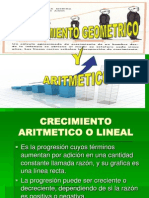 52719493 Crecimiento Aritmetico y Geometrico