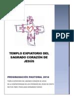 Programación Pastoral 2014 Templo 1.2