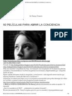 50 Películas Para Abrir La Conciencia _ Carmelo Urso