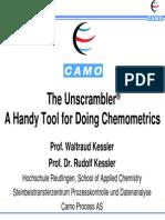 A Handy Tool for Chemometrics