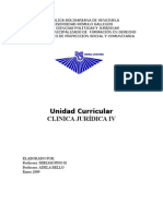 45722921 Programas de Clinicas Juridicas IV Unerg 1