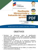 Taller Planificacion_evaluacion Regimen Costa