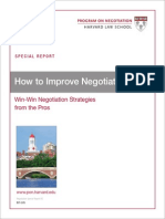 2 Improving Negotiation Skills