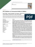 208857183 Tekgul S Et a Eur Urol 2012 62-3-534 EAU Guidelines on Veicoureteral Reflux in Children Ya Gitu Deh[1]