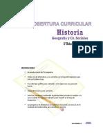 Cobertura Curricular Historia 5basico 2013