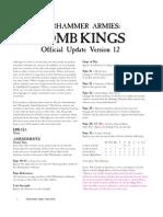 FAQs Tomb Kings v.1.2 - 2010