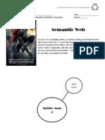 directed study - day 4 - biology - black spiderman semantic web