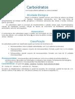 Resumo Bioquímica Carboidratos