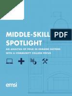 Middle-Skill Spotlight