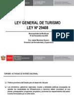 Ley General de Turismo 18.11.09