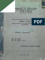 Tarata y Ticaco