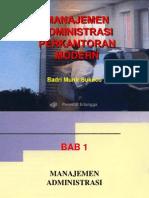 Management Administrasi Perkantoran MOdErn. Revised