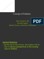Concept of Pediatric