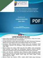 Seminar Pembentangan Disertasi Chong Terkini 10
