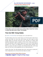 TNLA - Palaung Rebels - 10.7.2014