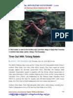 TNLA - Palaung Rebels - 10.7.2014