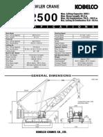 Kobelco Cke2500 Spec