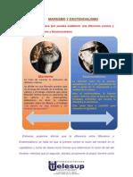 Diferencia Marxismo y Existencialismo