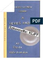 A Leves Hazudik - Hans Ulrich Grimm