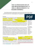 Glutatión y Su Asociación Con Las Enfermedades Neurodegenerativas-la Esquizofrenia-el Envejecimiento y La Isquemia Cerebral