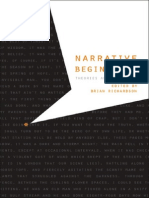 Brian Richardson Narrative Beginnings Theories and Practices 2008