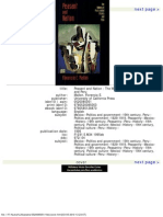 Mallon, Florencia E. Peasant and Nation. the Making of Postcolonial Mexico and Peru
