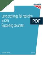 Level Crossings Risk Reduction