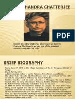 WORLLIT 2 Bankim Chandra Chatterjee