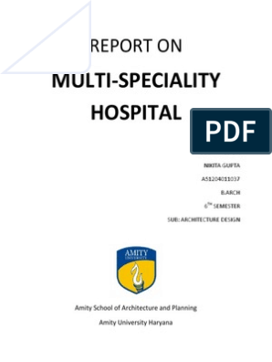 Case Study on Hospital | Stairs | Hospital
