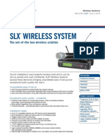 Datasheet Slx Wireless en 498kB
