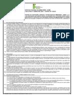 Edital Nº 11-2014 Seleção Dos Estudantes Do Curso de Formação Pedagógica EaD 2014 (Oficial)