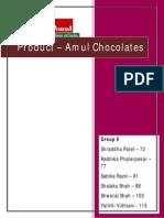 Amul Chocolates Rebranding