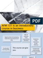 AFM131 - Introduction
