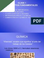 Química, Materia y Mezclas