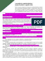 Peck y Seixas - Conceptos de Primer y Segundo Orden