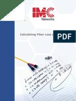 Calculating Fiber Loss