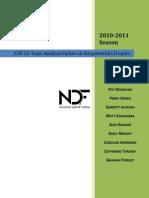NDF Topic Analysis 2010.2011