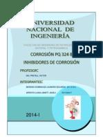Informe de Inhibidores de Corrosión