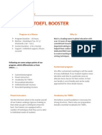 Toefl Booster by Mahavir Jain Academy
