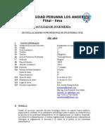 Fundamentos de Administracion Silabo Unico