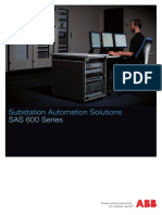 1kha001069 Sen Substation Automation Solutions Sas 600 Series