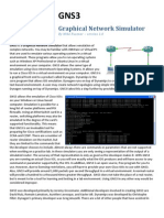 Graphical Network Simulator