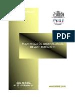 Guía Tecnica 33 - Planificacion Auditoria 2011