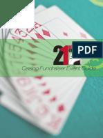 Casino Fundraiser Event Guide - 21 Nights Entertainment