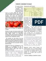 El Tomate Cuidando Tu Salud