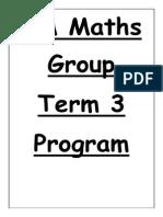 5m maths group t3 program