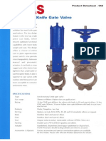 Vaas Knife Gate Valve