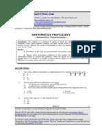 Math Module 3